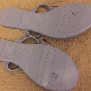 Light blue Michael Korda sandals 9M